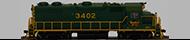 *EMD 12cyl 645E3 (FT)*