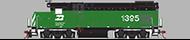 *EMD 12cyl 645E (FT)*