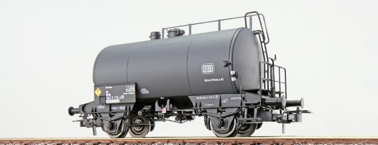 Liliput H0 Kesselwagen VTG 2-achsig DB ver.Betriebsnummer L240041 40//114-133